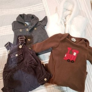 Lot of boys 0 to 3 Mos clothes